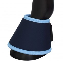 Magnetic bell boots in blue (front) by Equine Magnetix